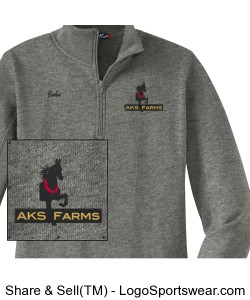 Mens Sport-Tek 1/4 Zip Sweatshirt Design Zoom