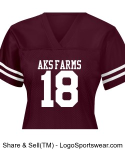 AKS Ladies Team Jersey Design Zoom