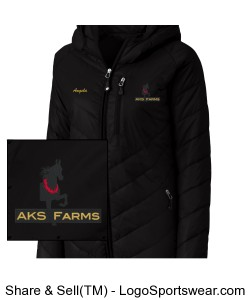 Ladies Crystal Mountain Jacket Design Zoom